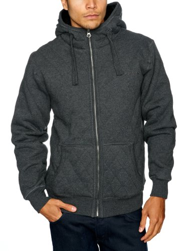 Quiksilver Porto-KPMSW103 Men's Sweatshirt Dark Grey Heath X-Large