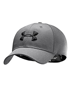 Under Armour Men's UA Blitzing Stretch Fit Cap Combo Large & Extra Large Graphite