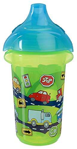 Munchkin Click Lock Deco Sippy Cups - 9Oz - 2 Pack (Blue/Green) front-663937