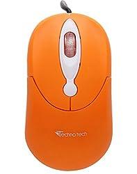 Technotech Usb Optical Mouse TT-A05 (Orange)