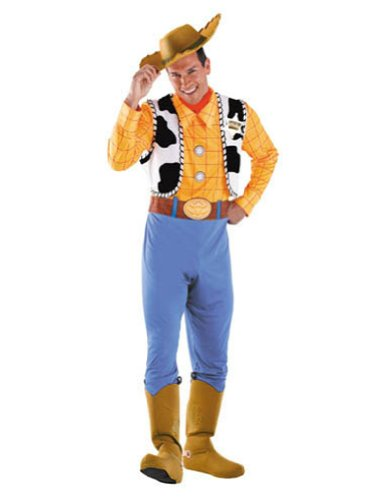 Woody Deluxe Adult 50-52 Adult Mens Costume
