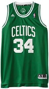 NBA Boston Celtics Paul Pierce Swingman Jersey Green by adidas