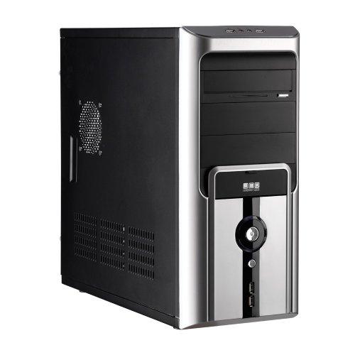 HeidePC® - The GamerPC at a low price. - (I3-2100 Intel Dual Core 2x 3.1 GHz - Asrock H61 S1155 - 8 GB DDR3 - Graphic Nvidia Geforce GT 440 1 GB - 24x DVD RW multi-burner with LS - HDD 500 GB SATA III - 500 Watts)