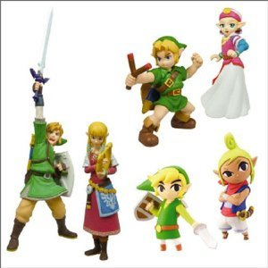 Tomy - TYE8171 - Figurine - The Legend of Zelda - Capsule Surprise