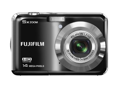 Fujifilm Finepix AX500 Digital Camera, 14 Megapixel, 5x Optical/6.7x Digital Zoom, 2.7
