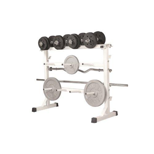 Universal Weight Rack White