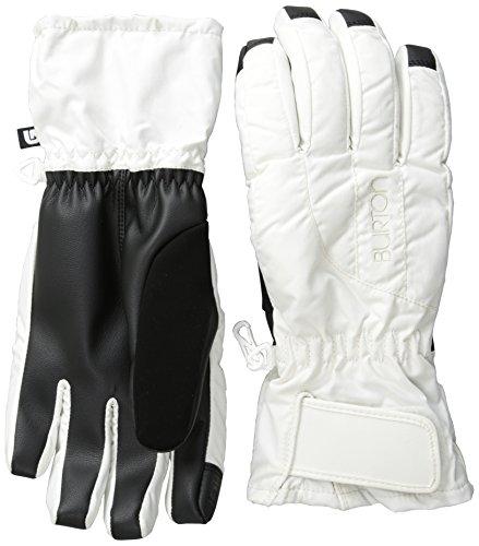 BURTON Women's Profile Under Gloves, Stout White, Medium (Burton Profile Under Glove compare prices)