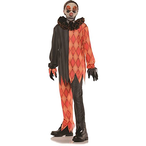Evil Clown Halloween Kids Costume