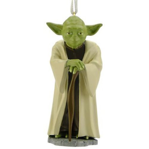 Hallmark Star Wars Yoda Christmas Tree Ornament