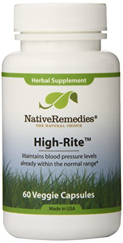 Native Remedies High-Rite Capsules, 60-Count Bottle