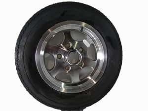 "12"" 5 Lug Trailer Alloy Wheel Rim with 5.30-12 Tire"