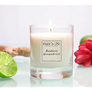 Therepe Scented Soy Jar Candles
