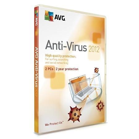 AVG Anti Virus 2012 2 PC, 2 Year Licence (PC)