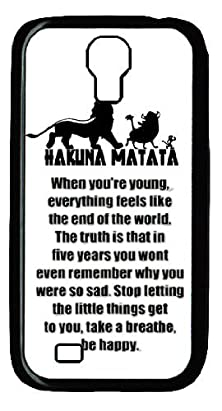 buy The Lion King Hakuna Matata Funny Hard Plastic Case Cover For Samsung Galaxy S4 I9500 Including Dust Plug