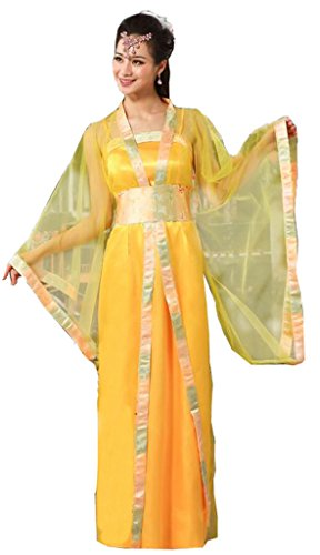 Chinese Ancient Stage Costumes Women's&Girl's Dress Halloween Cosplay HanFu