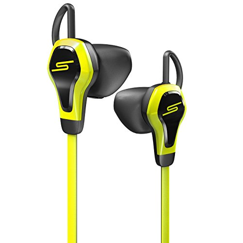【国内正規品】SMS Audio BioSport In-Ear Wired Ear Bud With Heart Monitor / インテル社製心拍計搭載スポーツ用 インイヤーヘッドフォン (イエロー)SMS-EB-BIOSPORT-YELLOW