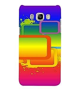 PrintVisa Modern Art Pattern 3D Hard Polycarbonate Designer Back Case Cover for SAMSUNG GALAXY J5 2016 Edition