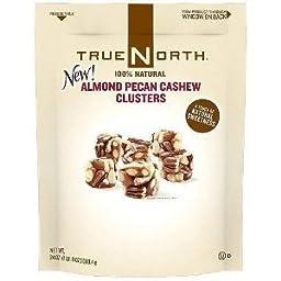 True North 100% Almond Pecan Cashew Cluster 24 oz (Pack of 3)