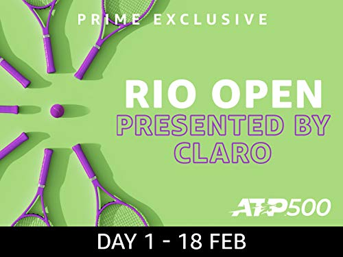 2019 Rio Open presented by Claro, ATP 500 - Day 1
