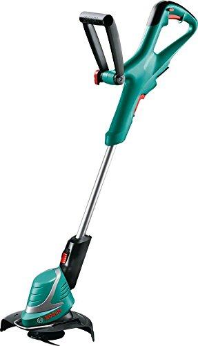 Bosch Home and Garden-Decespugliatore a batteria Art 26-18Li, batteria, caricatore, 2Durablade Knives, cartone di taglio (18V, 1,5Ah, 26cm), verde, 06008A5E01, 18 voltsV