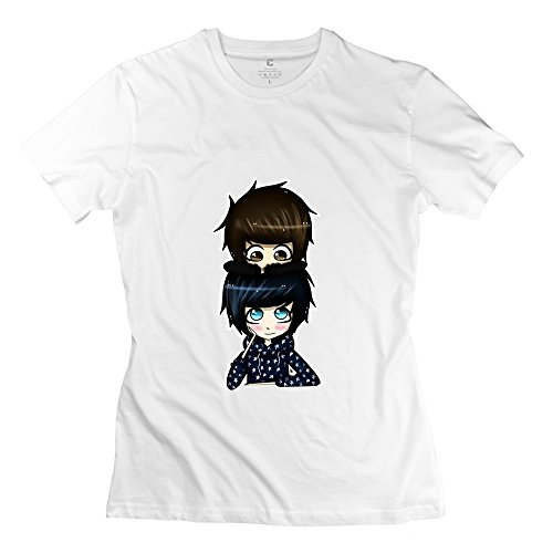 YMGG Womens T Shirt Cute Phan Woo Final By Autumn Buscus D72v06k Size XXL White (Kitchenaid Toaster Oven White compare prices)