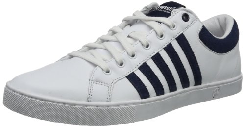 K-Swiss Men's Adcourt '72 SO? White/Mood Indigo Sneaker 10.5 D (M)