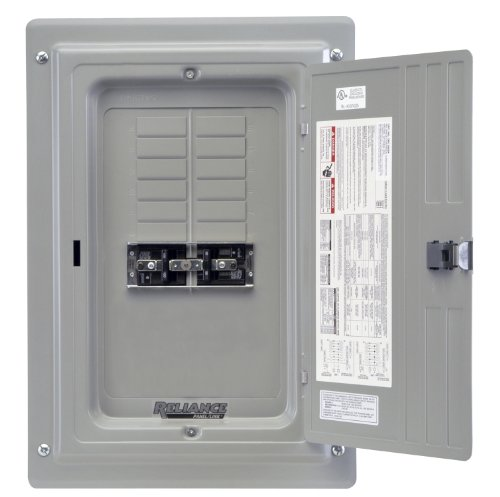 Reliance Controls Trc0603D Transfer Panel, 30-Amp