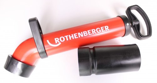 Rothenberger ROPUMP SUPER Plus Pressluftrohrreinigung