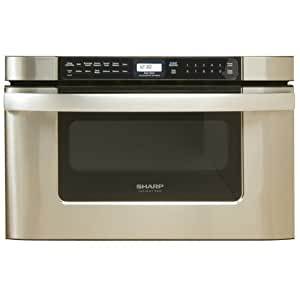 Sharp KB-6524PS 24-Inch Microwave Drawer Oven, Stainless