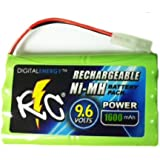 True Energy 9.6V/1600mAh Ni-MH RC Car Battery