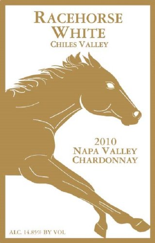 2010 Rustridge Racehorse White Chardonnay, Napa Valley 750 Ml