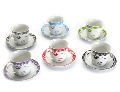 Cheap Versa Set of 6 Breakfast Cups - Buy Tea Sets Online
