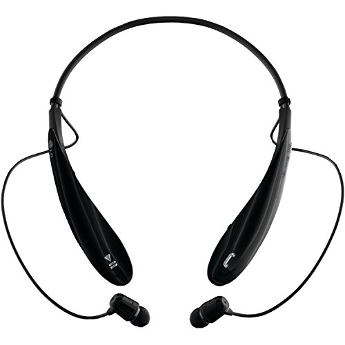 LG Electronics Tone Ultra (HBS-800) Bluetooth Stereo Headset - Retail Packaging - Black (Lg Electronics Tone Pro compare prices)