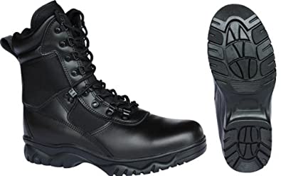 Kombat S.W.A.T Half Leather Codura Tactical Boots in Black (Size10)