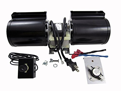 Tjernlund GFK160 Fireplace Blower Kit for Heat N Glo, Hearth and Home, Quadra Fire (Heat N Glo Blower compare prices)