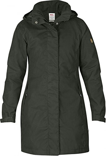 Fjäll Räven Una Jacket, Damen Mantel, 032 mountain grey - grau, Gr. S - S