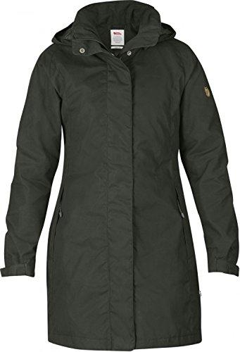 Fjäll Räven Una Jacket, Damen Mantel, 032 mountain grey - grau - XS