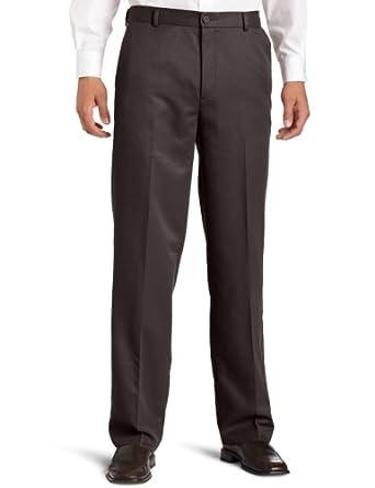 Dockers Men's Advantage 365 Khaki D3 Classic Fit Flat Front Pant, Shale, 34x36