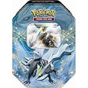 Factory Sealed Packaging Pokemon Black White Card Game Spring 2012 Ex Collectors Tin Kyurem Toy / Game / Play / Child / Kid