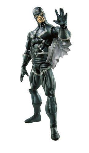 Marvel Legends Exclusive Nemesis Build-A-Figure Wave Action Figure Black Bolt