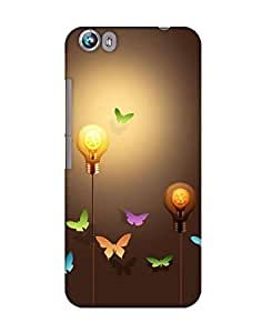 BYC Back Cover for Micromax Canvas Fire 4 A107 (MATTE)