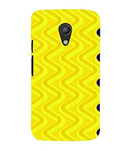 PrintVisa Spiral Pattern 3D Hard Polycarbonate Designer Back Case Cover for Motorola Moto G2