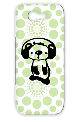 Anti-Scuff Black Koala With Headphones Case For Sumsang Galaxy Note 2 Koala Vector Unique Illustration Graphic Animation Wildlife Wild Animal Animals Aus Art Animals Nature Oceania Cute Music Oceania Animation Autratlia