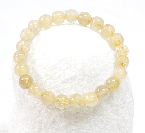 Round Hair Crystal Bracelet