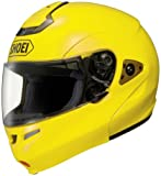Shoei Metallic Multitec Street Racing Motorcycle Helmet - Brilliant Yellow / 2X-Large