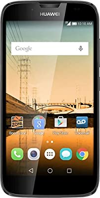 Boost Mobile - Huawei Union No-Contract Cell Phone - Black