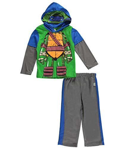 "TMNT Little Boys' ""Leonardo Sketch"" 2-Piece Outfit"