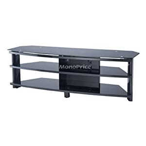 .com: Monoprice High Quality TV Stand for Flat Panel TVs Up to 55