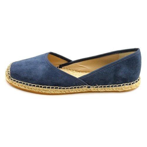 Kors Michael Kors Beswick Womens Size 8 Blue Suede Flats Shoes