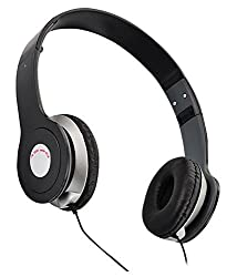 PCM Ubon 1360 Headphones For All Samsung,Xolo, Micromax, Oppo, Lava and smart Mobiles And Laptop -UB-1360 with Mic - - Pink City Mobile